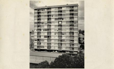 , 'Quarterdeck Apartments', photographed by Max Dupain 1963, Courtesy Max Dupain and Associates, Stanton Library collection