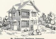 , A residential design by Clamp featured in <i>Building,</i> July 1908. Stanton Library