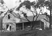 , 'Greencliff' was built at Kirribilli around 1864. This photograph was taken shortly after. The house was demolished in the 1990s. Macleay Museum